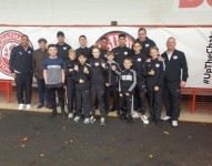 St Mary�s abc at Chatham Town FC fund raising Oct 2019